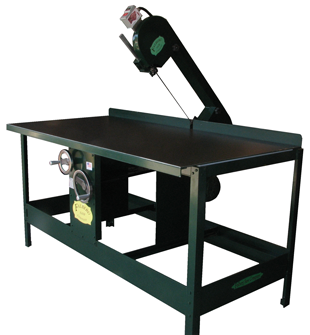 Custom-built industrial three-wheeled Band Saws made in the USA