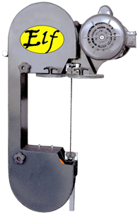 two-wheeled portable bandsaw - The Elf by Falberg Saws